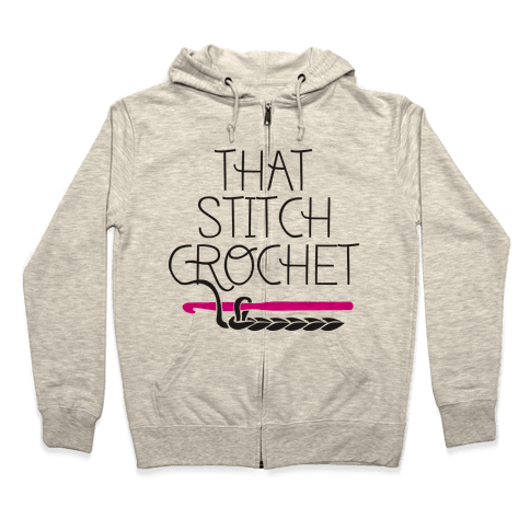 That Stitch Crochet! Zip Hoodie