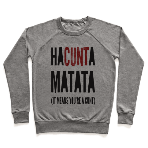 HaC***a Matata Pullover