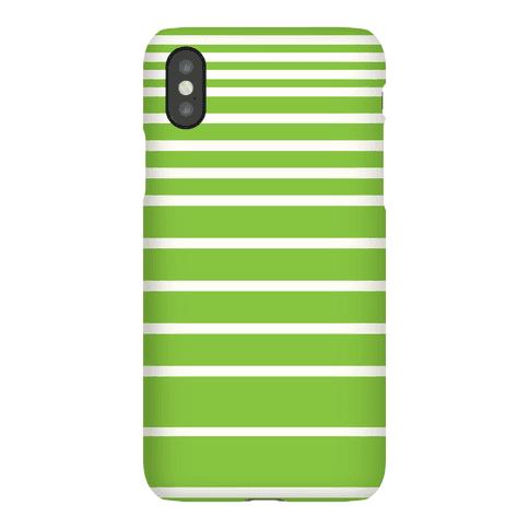Green Stripe Case Phone Case