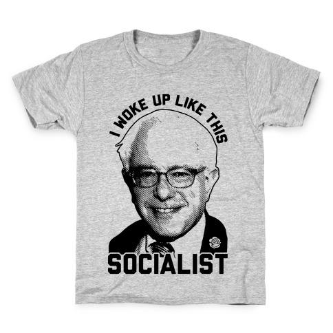I Woke Up Like This Socialist Kids T-Shirt