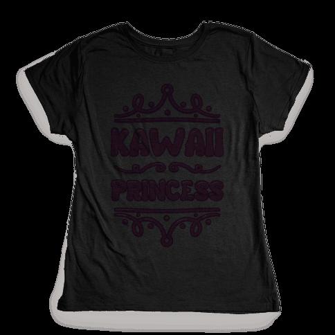 Kawaii Princess Womens T-Shirt