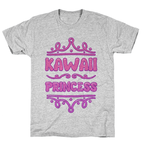 Kawaii Princess Mens T-Shirt