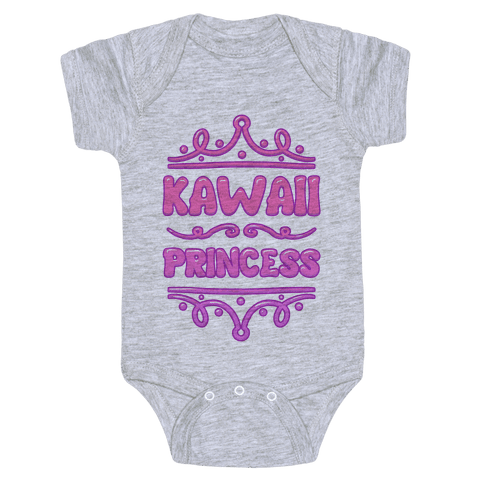 Kawaii Princess Baby Onesy