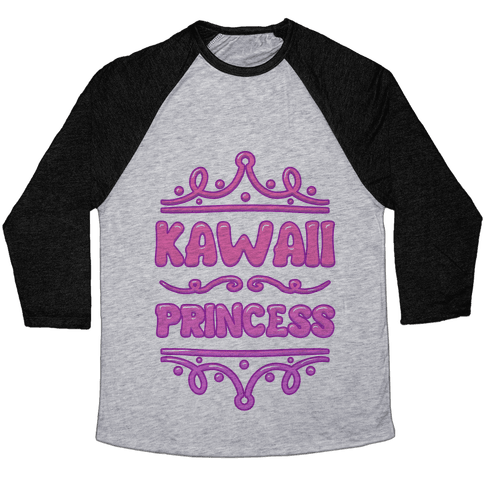 Kawaii Princess Baseball Tee