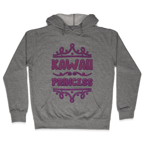 Kawaii Princess Hooded Sweatshirt