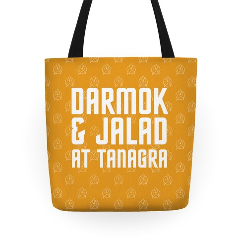 Darmok and Jalad At Tanagra Tote