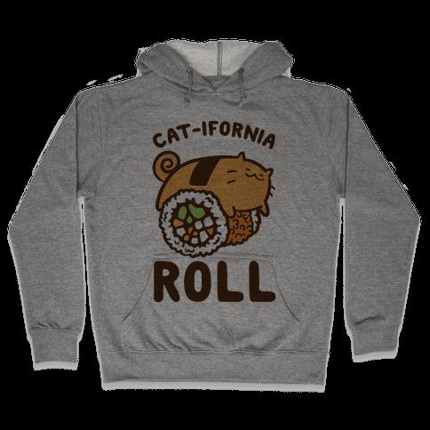 California Cat Roll Hooded Sweatshirt