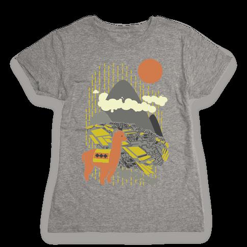 Machu Picchu Womens T-Shirt