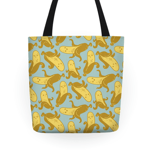 Banana Pattern Tote