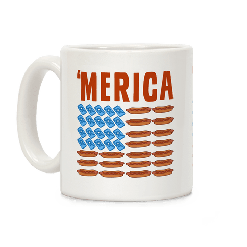 Beer, Hotdogs & 'Merica Coffee Mug