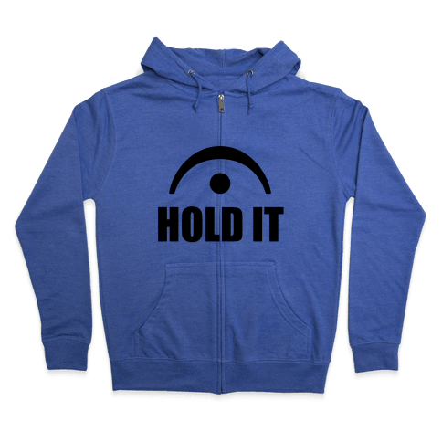 Hold It (Fermata) Zip Hoodie