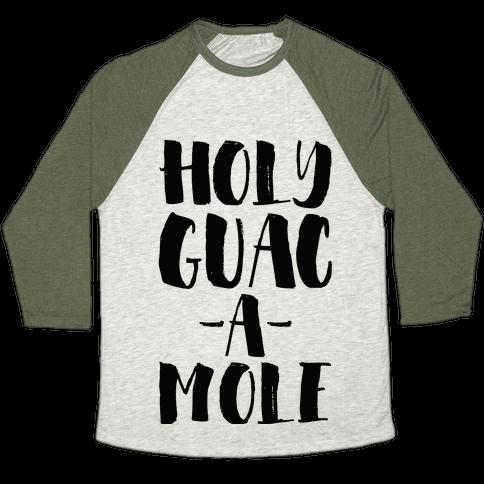 Holy Guacamole!  Baseball Tee