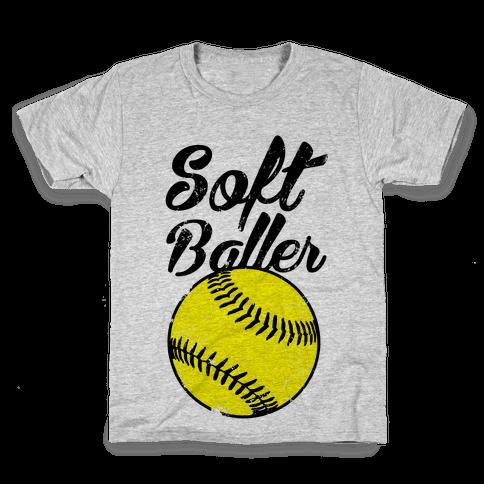Softballer Kids T-Shirt