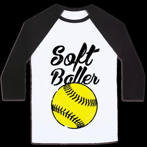 Softballer Baseball Tee