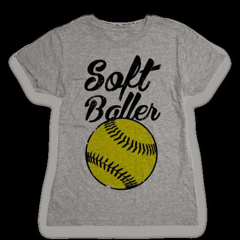 Softballer Womens T-Shirt