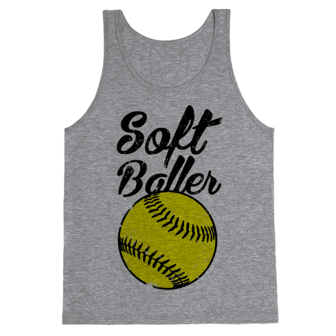 Softballer Tank Top