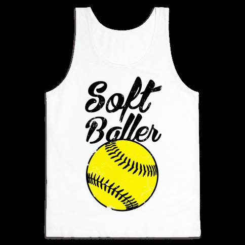 Softballer Tank Top