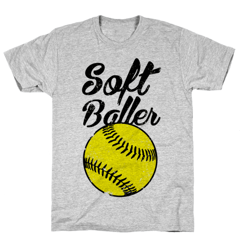 Softballer Mens T-Shirt