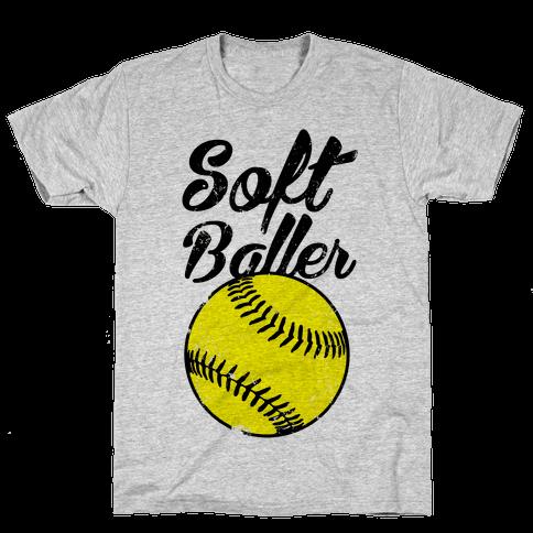Softballer Mens T-Shirt