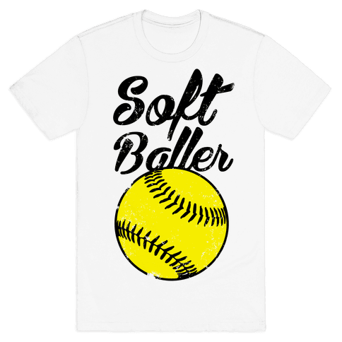 Softballer Mens T Shirt