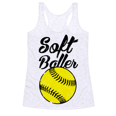 Softballer Racerback Tank Top