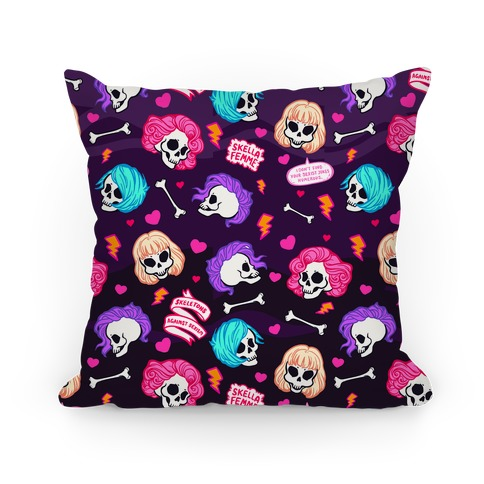 Spooky Scary Feminists Pillow
