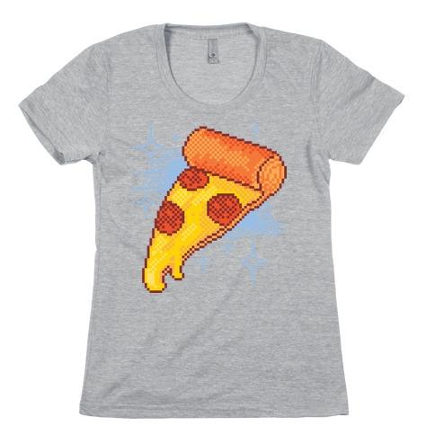 Pixel Pizza Womens T-Shirt