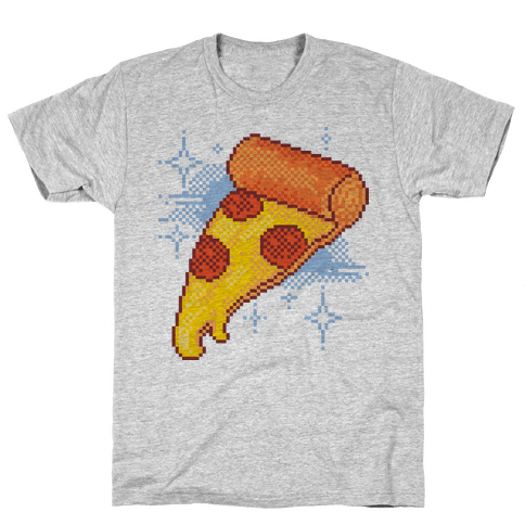 Pixel Pizza Mens T-Shirt