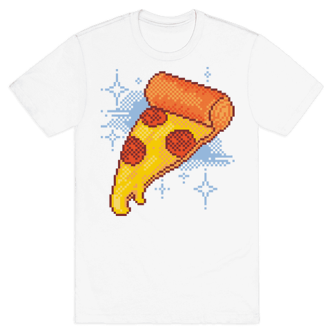 Pixel Pizza Mens T-Shirt