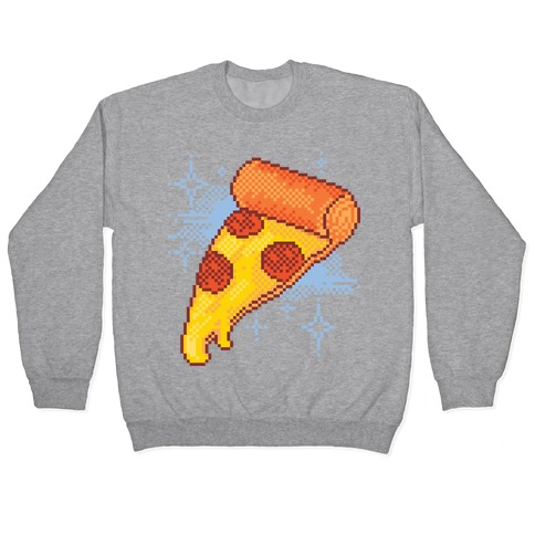 Pixel Pizza Pullover