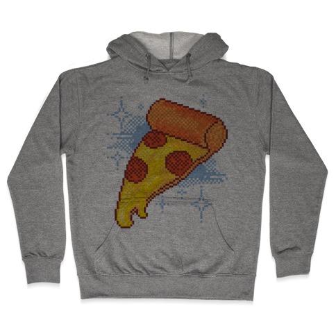 Pixel Pizza Hooded Sweatshirt