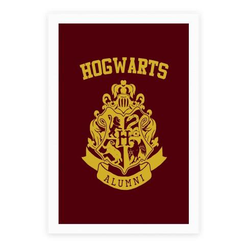 Hogwarts Alumni Crest Poster