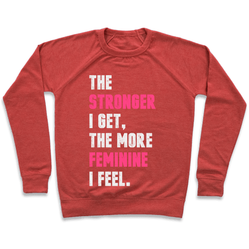 Strong Feminine Workout Pullover