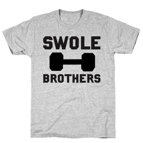 Swole Brothers Mens T-Shirt