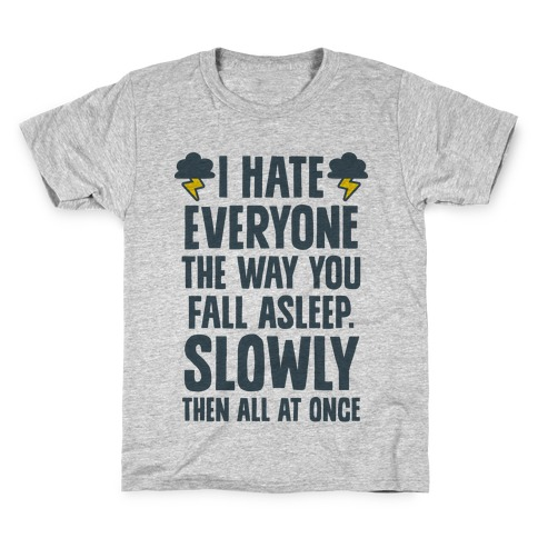 I Hate Everyone (TFIOS) Kids T-Shirt
