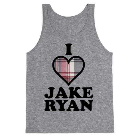 I Love Jake Ryan Tank Top