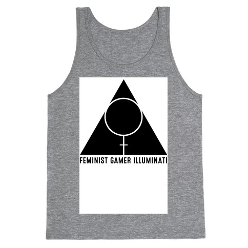 Feminist Gamer Illuminati Tank Top
