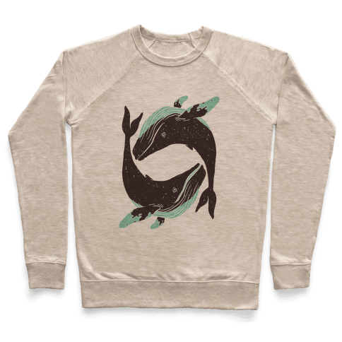 The Circle of Whales Pullover