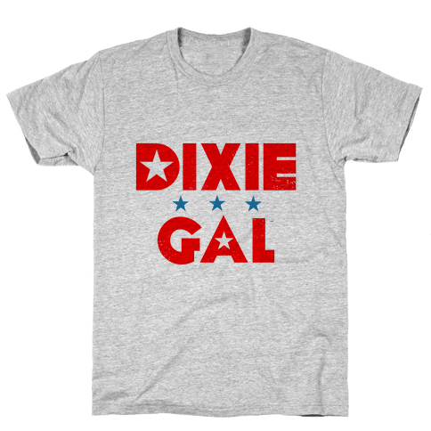 Dixie Gal Mens T-Shirt