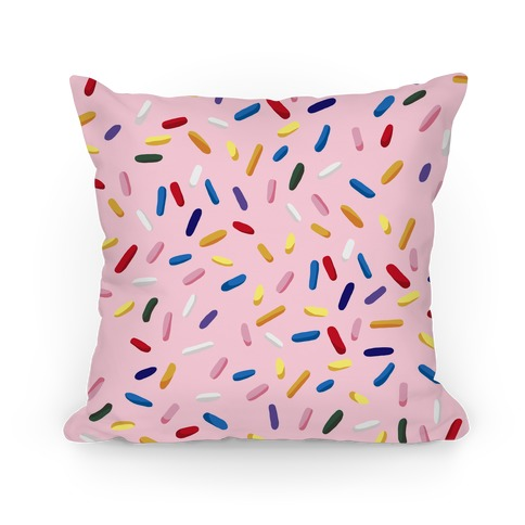 Sprinkle Pillow (Strawberry) Pillow