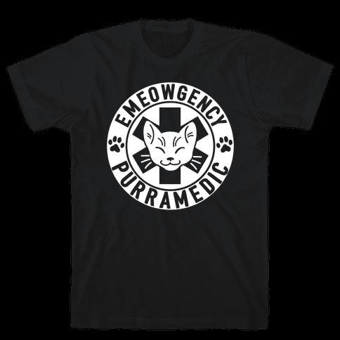 Emeowgency Purramedic Mens T-Shirt