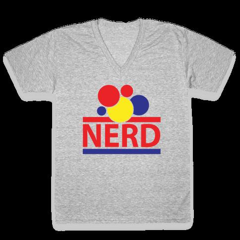 Nerd Life V-Neck Tee Shirt