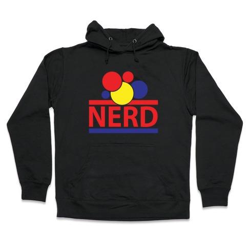 Nerd Life Hooded Sweatshirt