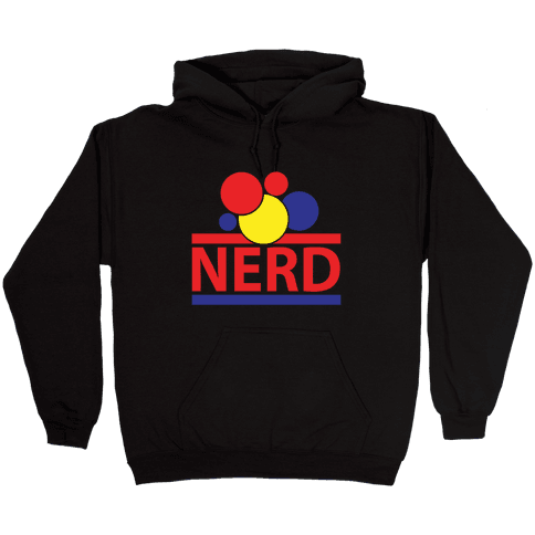 Nerd Life Hooded Sweatshirt