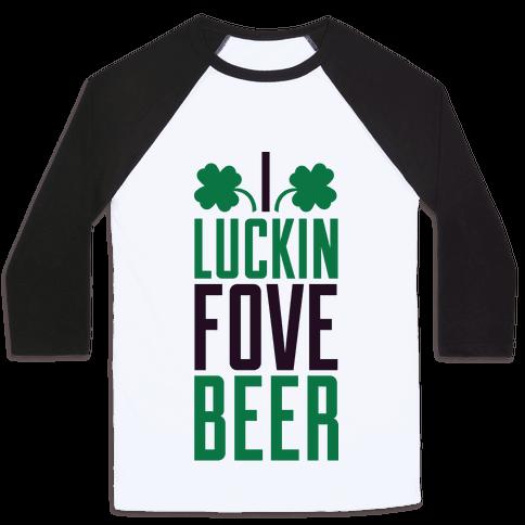 Luckin Fove Beer Baseball Tee