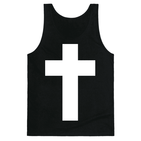 White Cross (Vintage) Tank Top