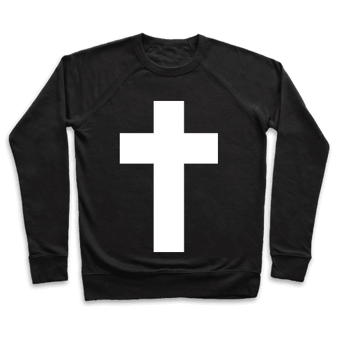 White Cross (Vintage) Pullover