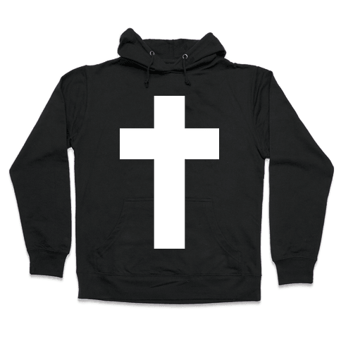 White Cross (Vintage) Hooded Sweatshirt