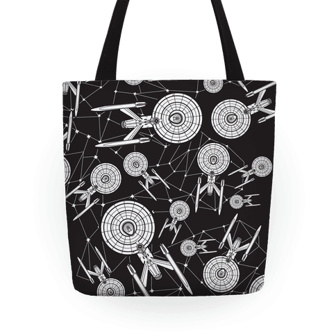 Starship Enterprise Pattern Tote