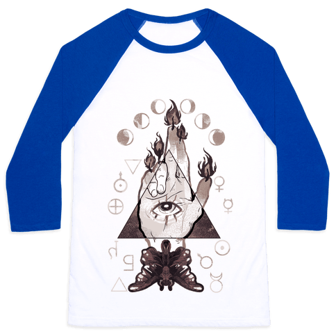 Hand Of Glory Baseball Tee